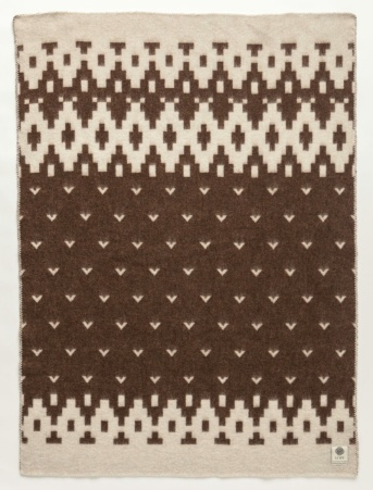 Álafoss Wool Blanket - Lopi Brown 0501